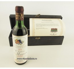 Chateau de Mauves 1972 Bordeaux 500 ml in cutie lemn